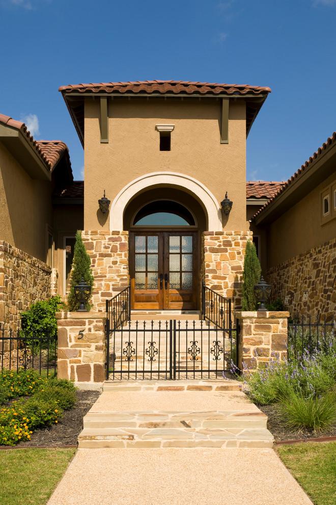 Tuscan Style Home By Jim Boles Custom