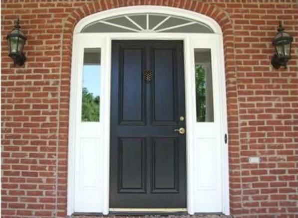 Entryway - traditional entryway idea in Columbus