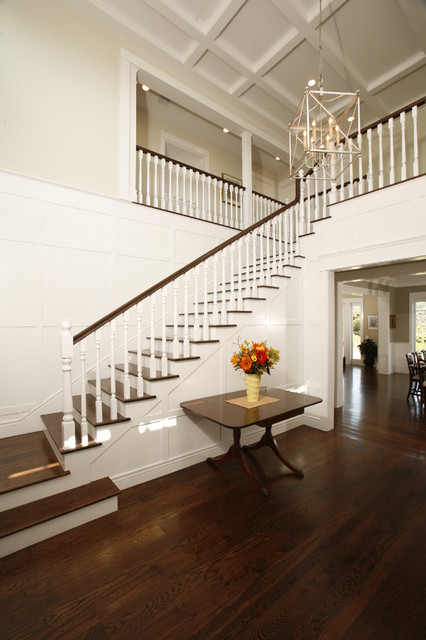 Foyer Lighting Story : Two story entry foyer traditional los angeles