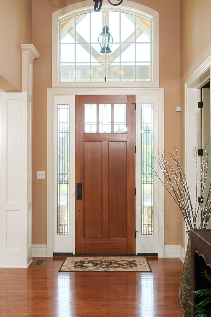 Houzz Two Story Foyer : Two story foyer transitional entry other by garman