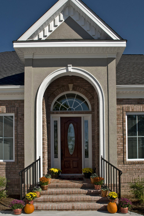 How to get decorative elements in your stucco facade for Stucco facade