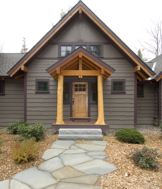 Timber Framed Home Designs: Unique Hybrid Of Conventional, Timber And Log Framed Home