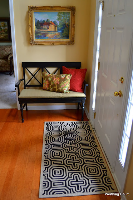 Updated Foyer traditional-entry
