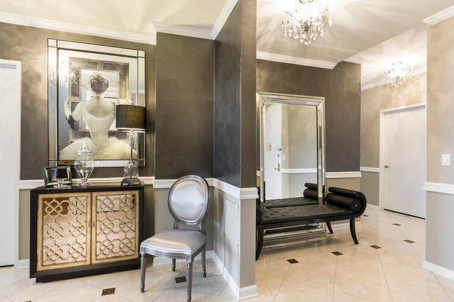 UPPER EAST SIDE PENTHOUSE - Shabby-Chic Style - Ingresso - New York ...