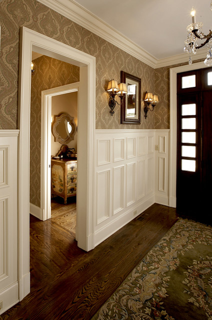 Upstate Country estate traditional-entry