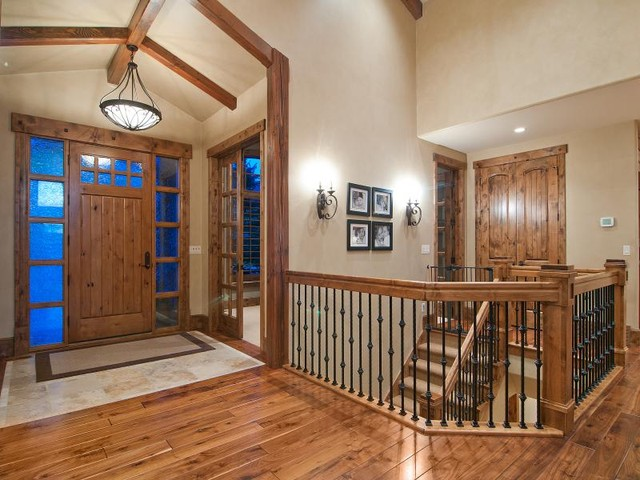 Utahs Luxury Home Builder, Cameo Homes Inc. in North Salt Lake traditional entry