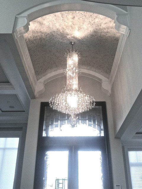 Vaulted Ceiling Chandelier