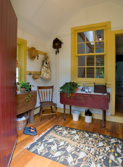Woodstock Vermont Home Addition traditional-entry