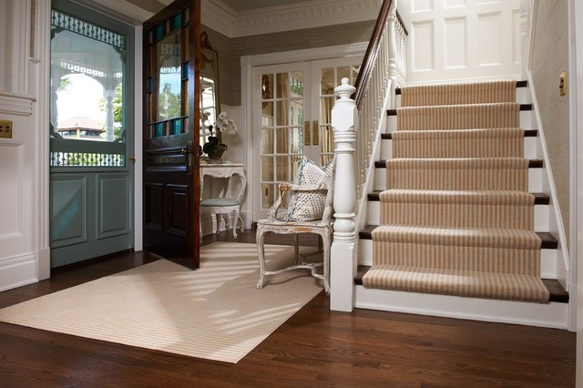 Victorian Home traditional-entry
