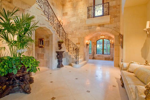 Villa de Frazier mediterranean-entry