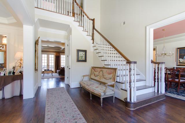 Vinings Traditional Entry Atlanta By Abbey Construction Company Inc