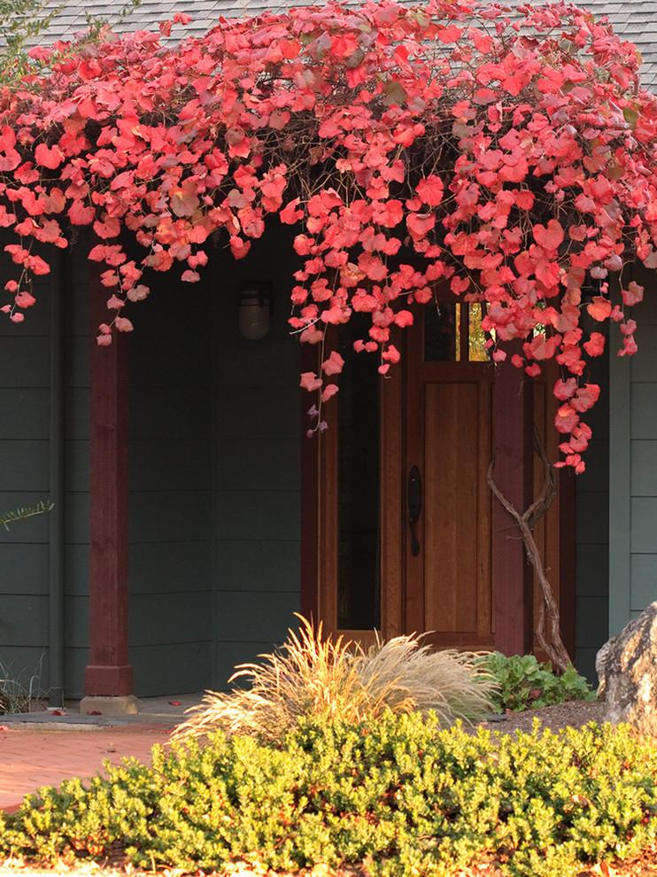 Trendy front door photo in Other