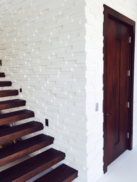 Wall Installations contemporary-entrance