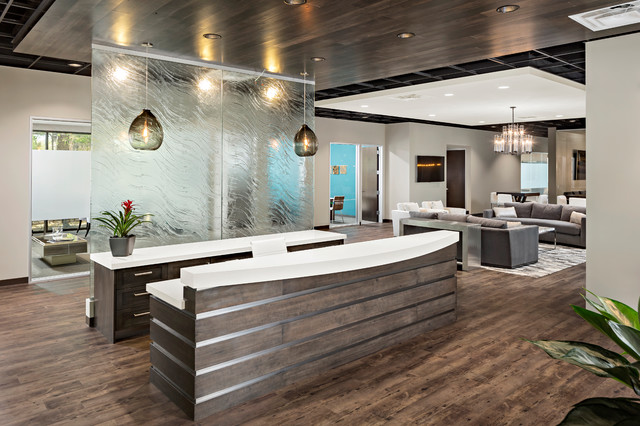 Wallick and volk corporate office modern entry for Houzz corporate office