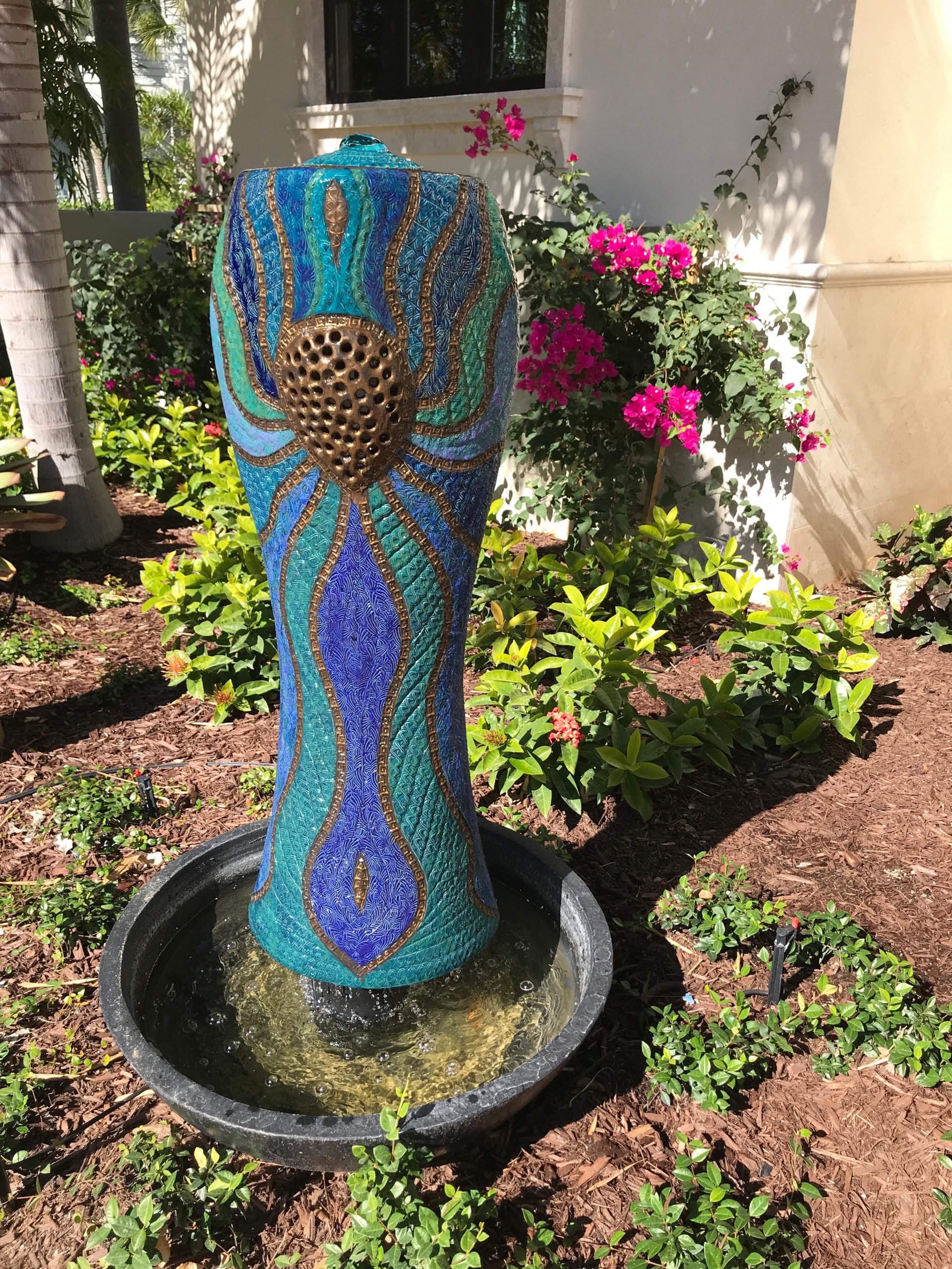 Water Sculpture by Damien Jones Art