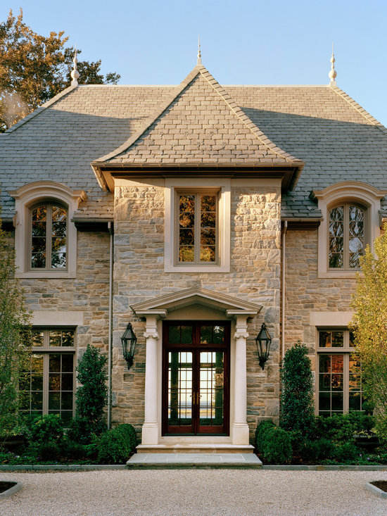 Pediment roof home design ideas pictures remodel and decor for Exterior pediments