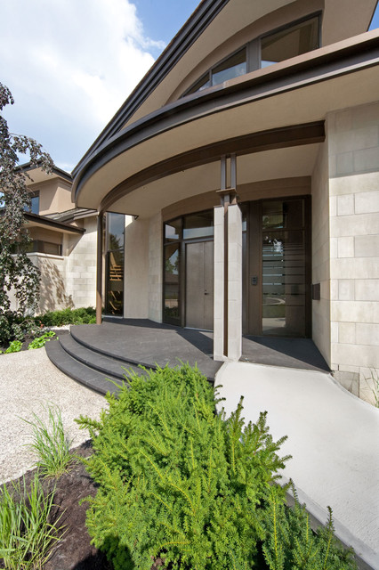 Waters Edge contemporary-entry