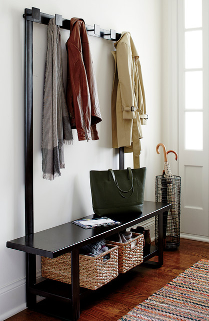 Welkom Hall Tree Bench With Coat Rack Modern Entry Chicago Stunning Entry Hall Coat Rack