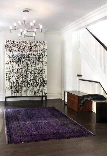 Difference Between Foyer And Entry : Wells hill contemporary entry toronto by shirley