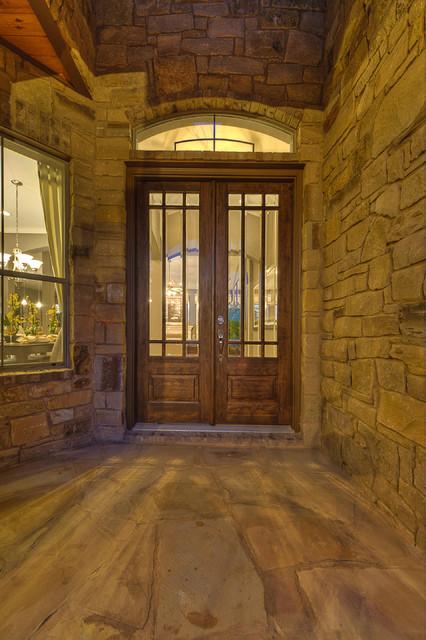 West Cypress Hills - Traditional - Entry - Austin - by Danze u0026 Davis Architects, Inc.