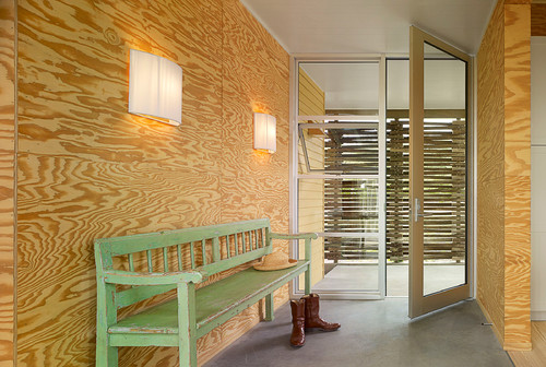 Plywood Interior Walls
