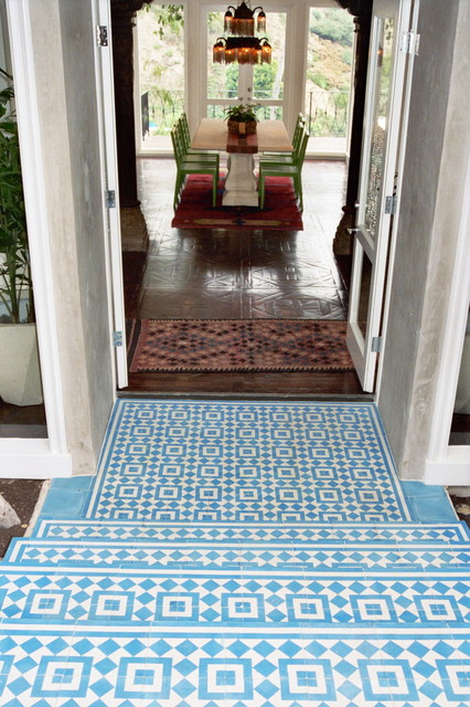 West Hollywood Moroccan Home Mediterranean Entry