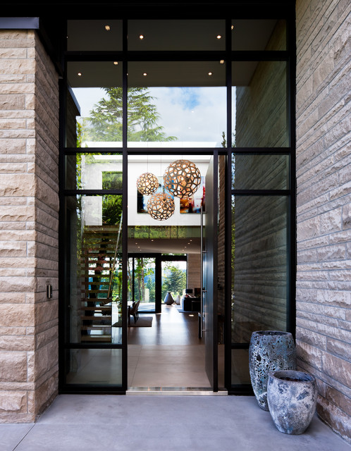 West Vancouver Residence contemporary-entry