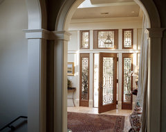 Wetmore Residence traditional entry