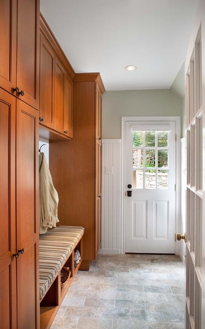 Whole-house remodel, Chevy Chase, MD traditional-entry