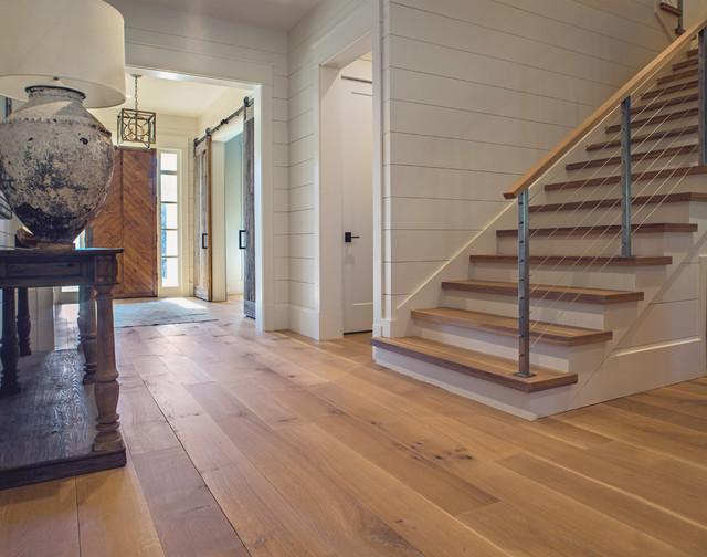 Wide Plank White Oak Wood Floor In Nashville Tn With