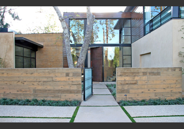 William Hefner Architecture contemporary entry
