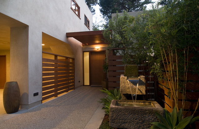 William Hefner Architecture Interiors & Landscape asian-entry