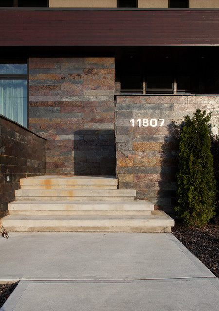 Windsor Park Bauhaus Contemporary Entry Edmonton By Habitat Studio