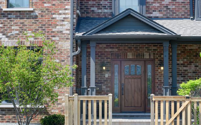 Wood Doors for Worthy Spaces (Custom Solid Wood Doors) craftsman-entry