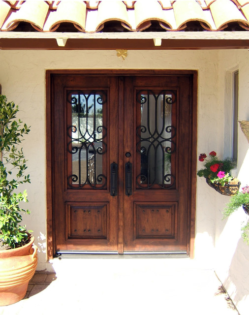 Wood Doors Rustic Entry