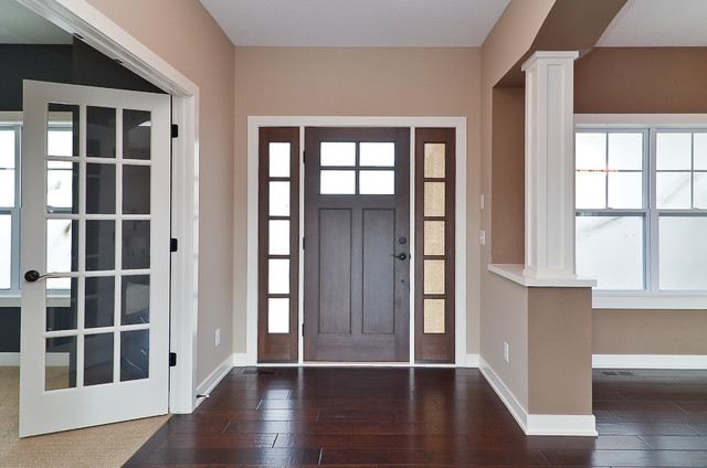 Woodbury New Construction 3 traditional-entry