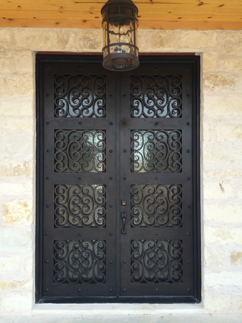 Wrought Iron Doors - Traditional - Entry - Austin - by Porte