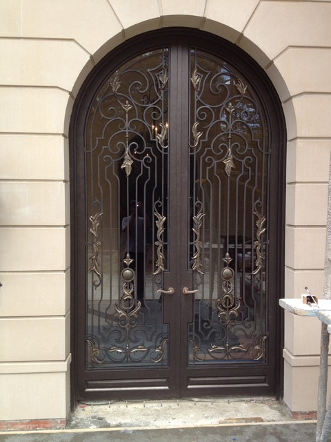 Wrought Iron Front Doors Traditional Entry San Francisco By Hunter Designs