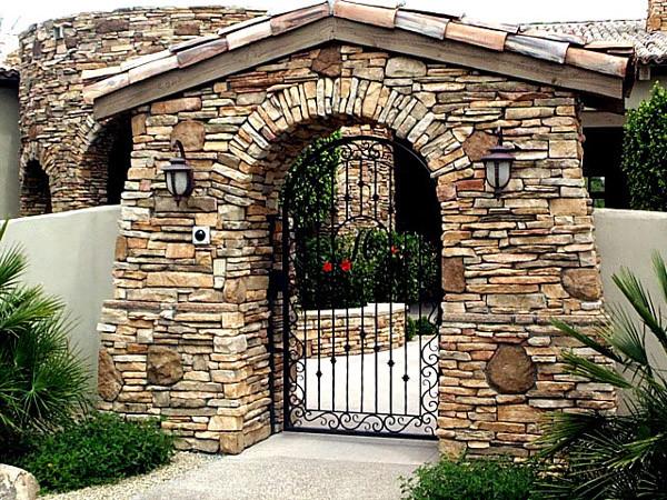 Wrought Iron Walk Gate