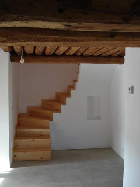 Cal espinac rustic staircase other by albert villar for Escaleras villar