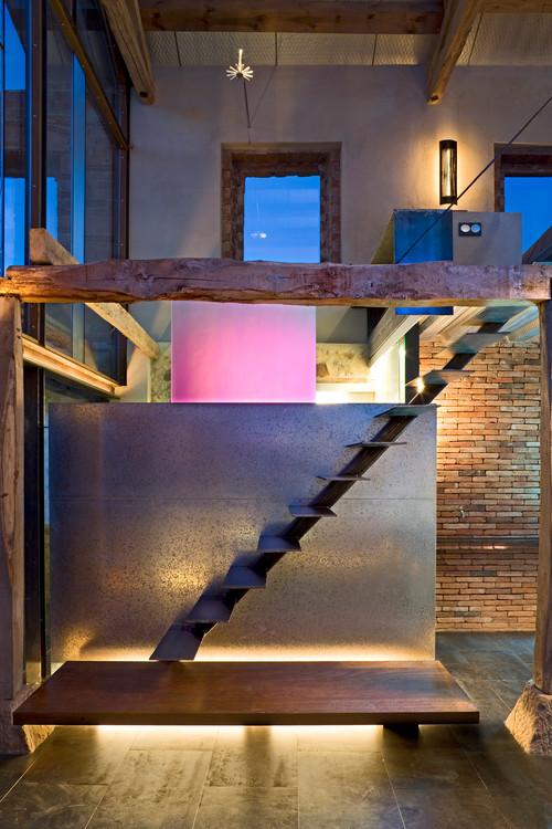 ducha de un pajar reformado por Jesus Castillo de Oli Arquitecto en diariodesign magazine
