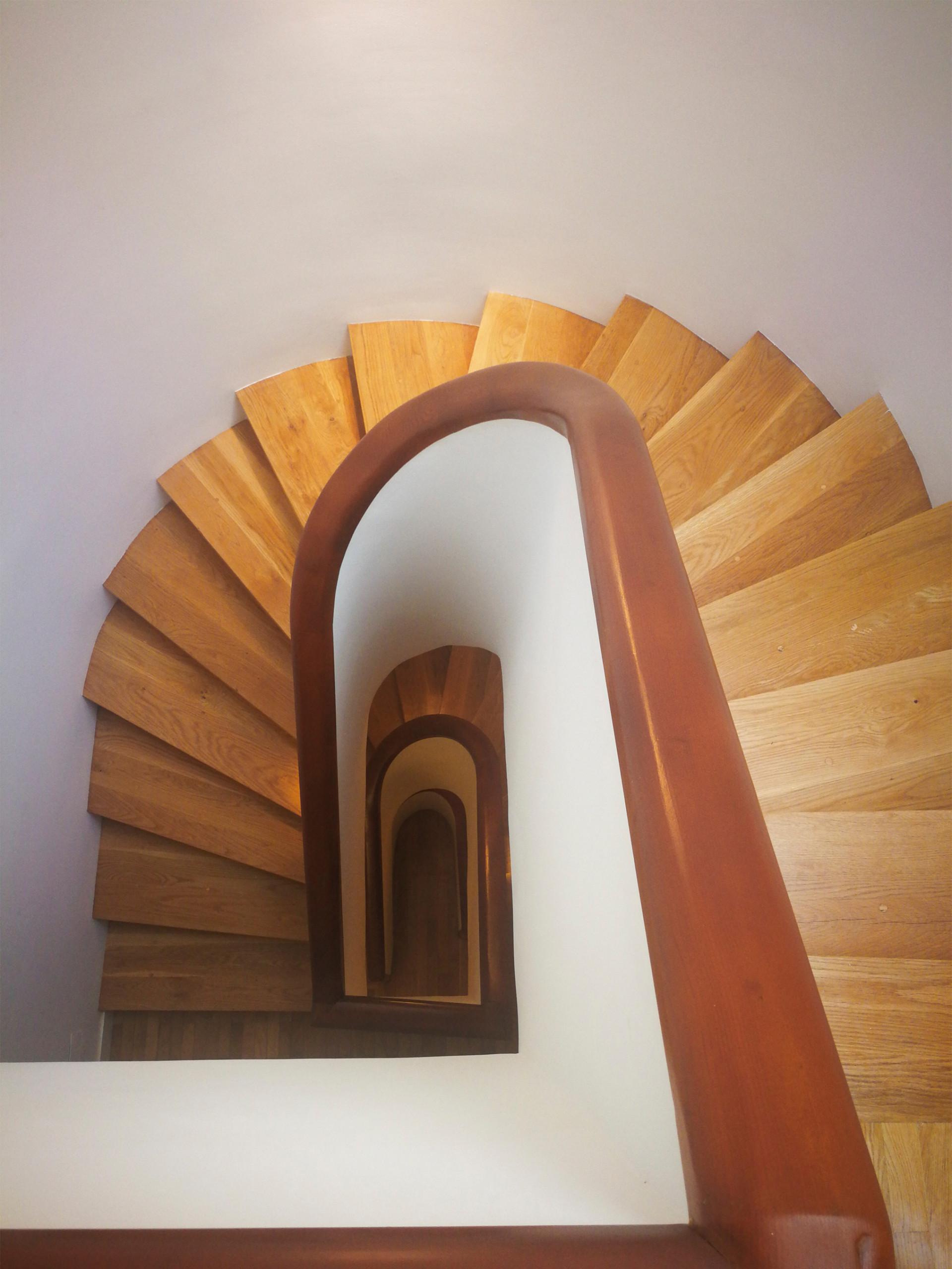 Rehabilitación de la escalera