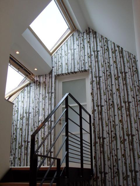 amnagement cage d escalier dcoration duune cage duescalier with amnagement cage d escalier. Black Bedroom Furniture Sets. Home Design Ideas