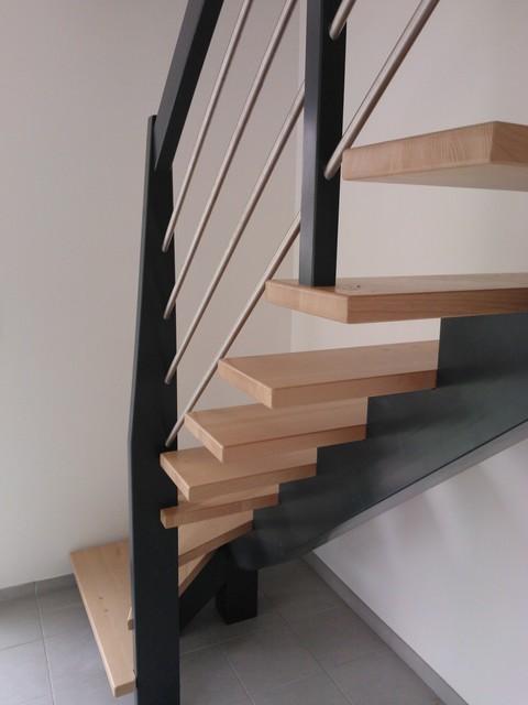 Escalier Bois Contemporain – Strasbourg 12  iserverpro
