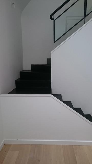 Escalier beton cire Rennes - Industriel - Escalier - Rennes - par ...