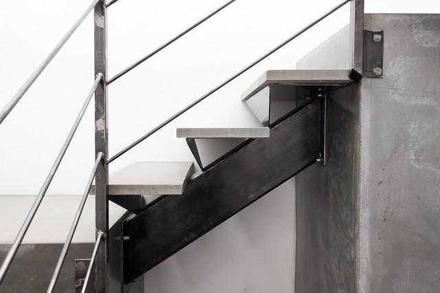 Escalier cube - Escalier metal industriel ...