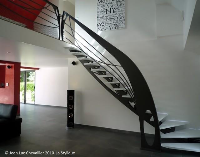 escalier design Art Nouveau - Modern - Treppen - Paris - von ...