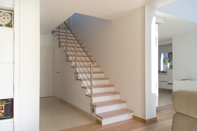 Escalier Droit Design intérieur - Modern - Treppen - Paris ...