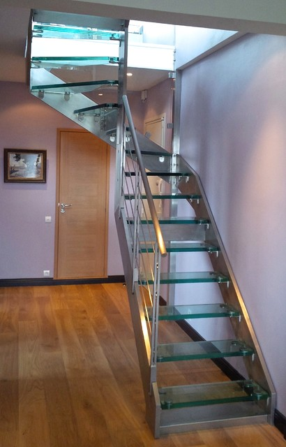 Escalier Inox Et Verre Elite Glass And Stainless Steel