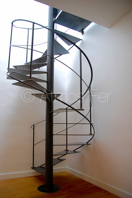 escaliers contemporain escalier other metro par atmos fer. Black Bedroom Furniture Sets. Home Design Ideas